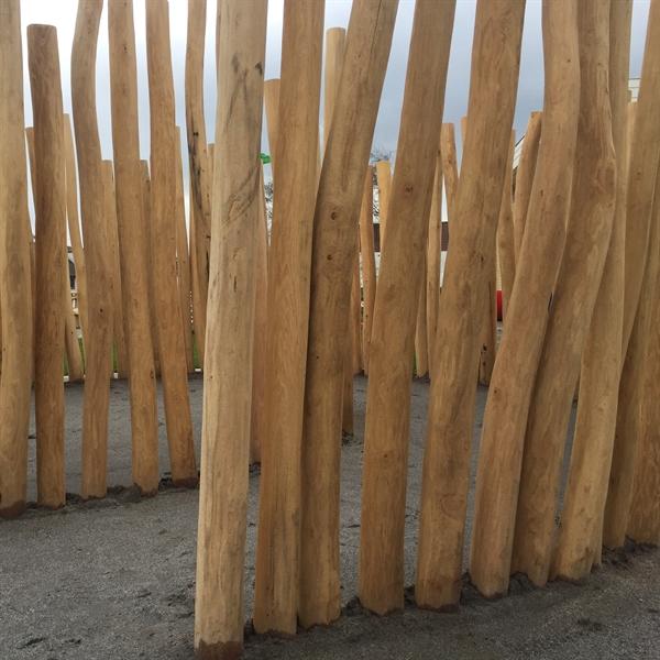 Enormt Bestil træstolper - Robinie, Lærk og Jernbanesveller CK01