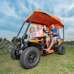 Familie Offroad Sofa Cykel, med soltag
