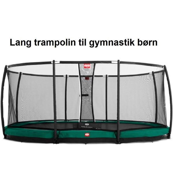 Nedsænket Grand Champion trampolin fra BERG - Køb her!