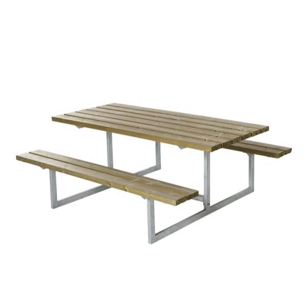 Vedligeholdelsesfrit bord og bænkesæt