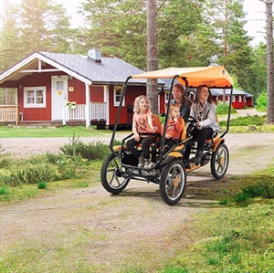 Familie Sofa Cykel med tag