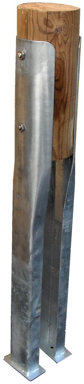 Stolpesko til runde stammer og stolper - Køb her