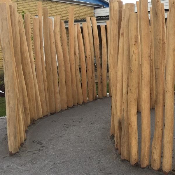 Nice Bestil træstolper - Robinie, Lærk og Jernbanesveller ON79